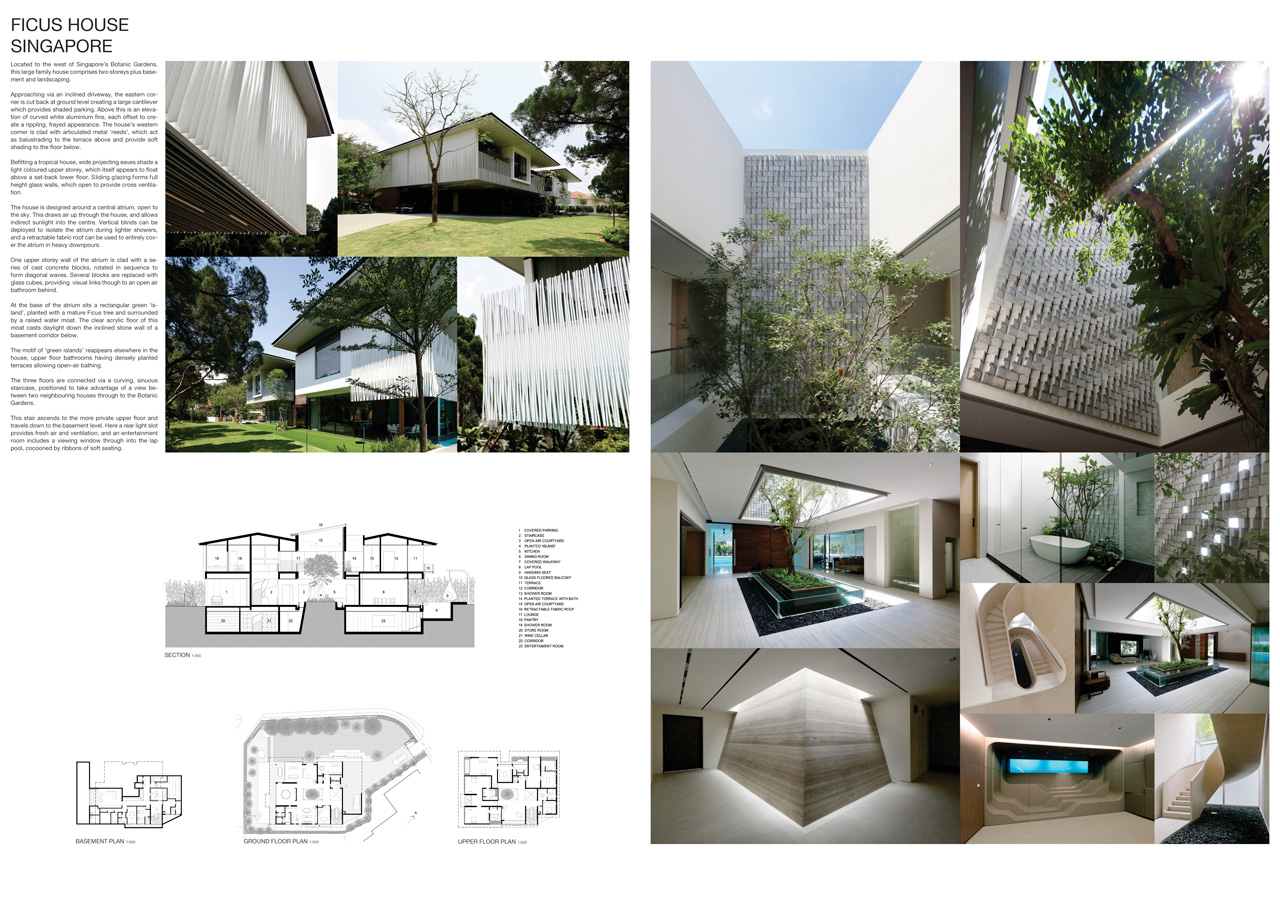 Ficus House Presentation Boards Hatterwan Architects
